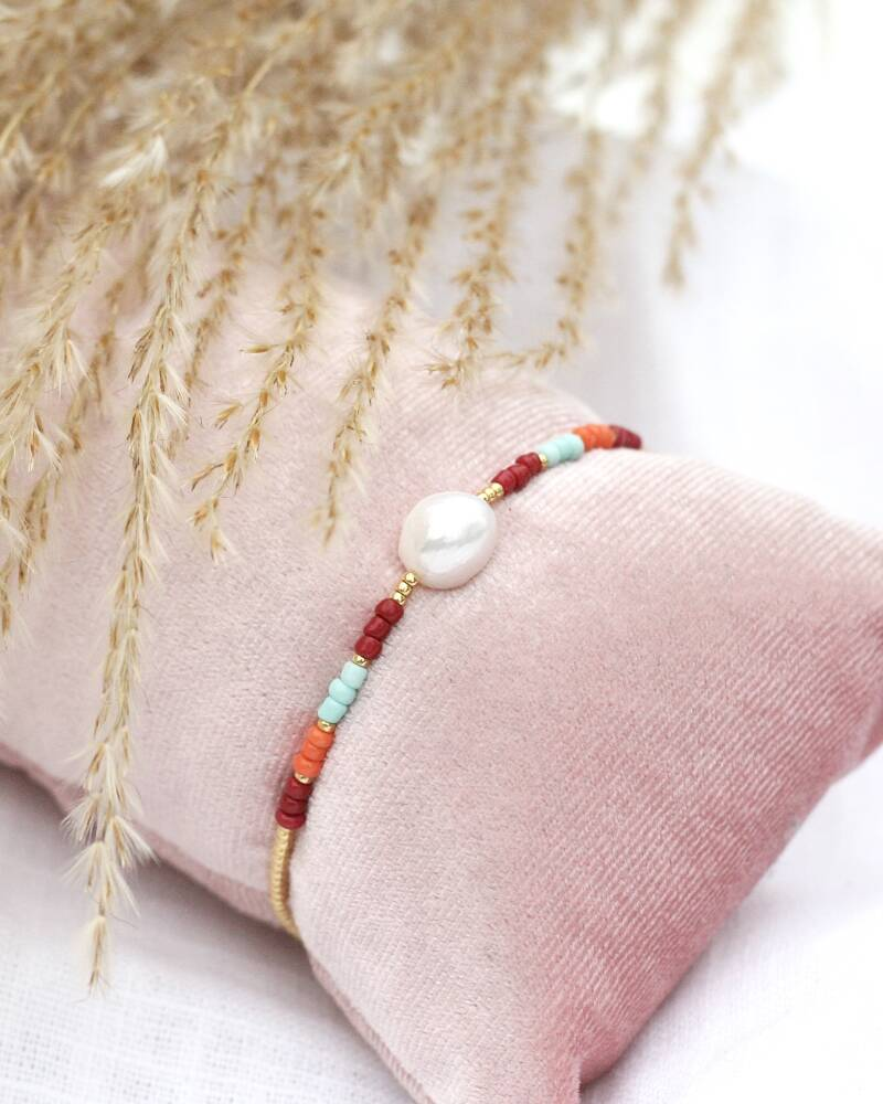 AUTUMN PEARL BIG ARMBAND