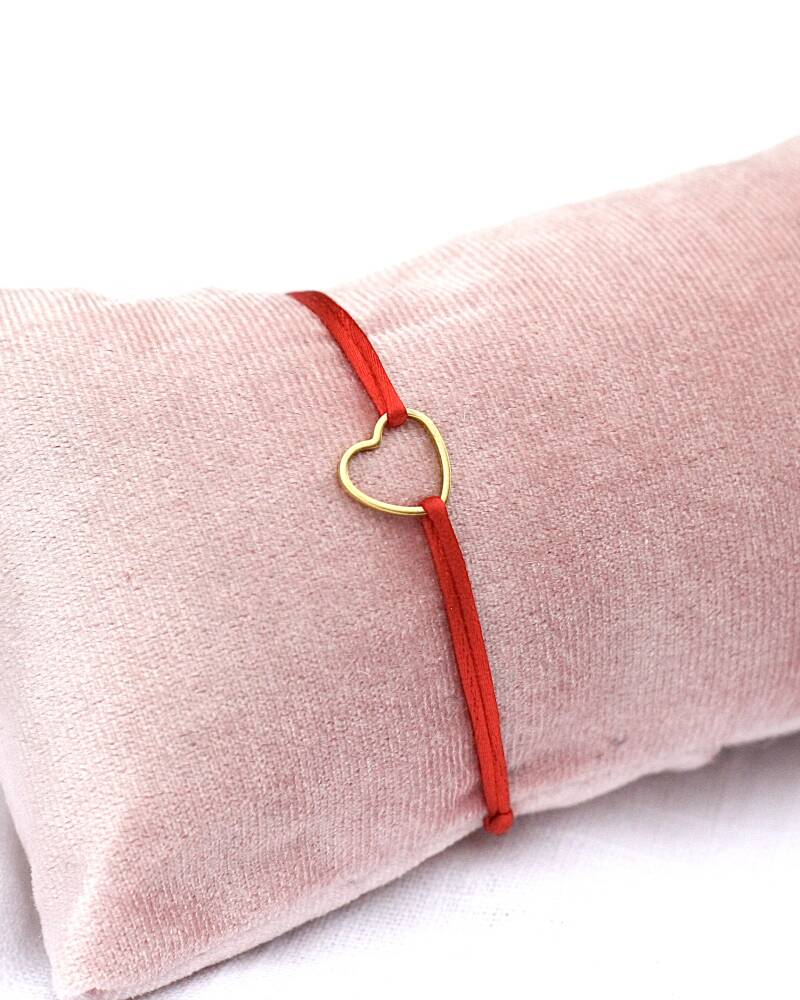 STAINLESS STEEL HEART ARMBAND