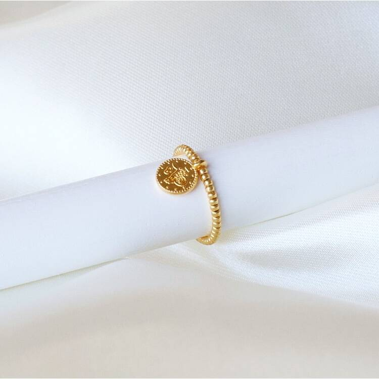 RING COIN GOLD