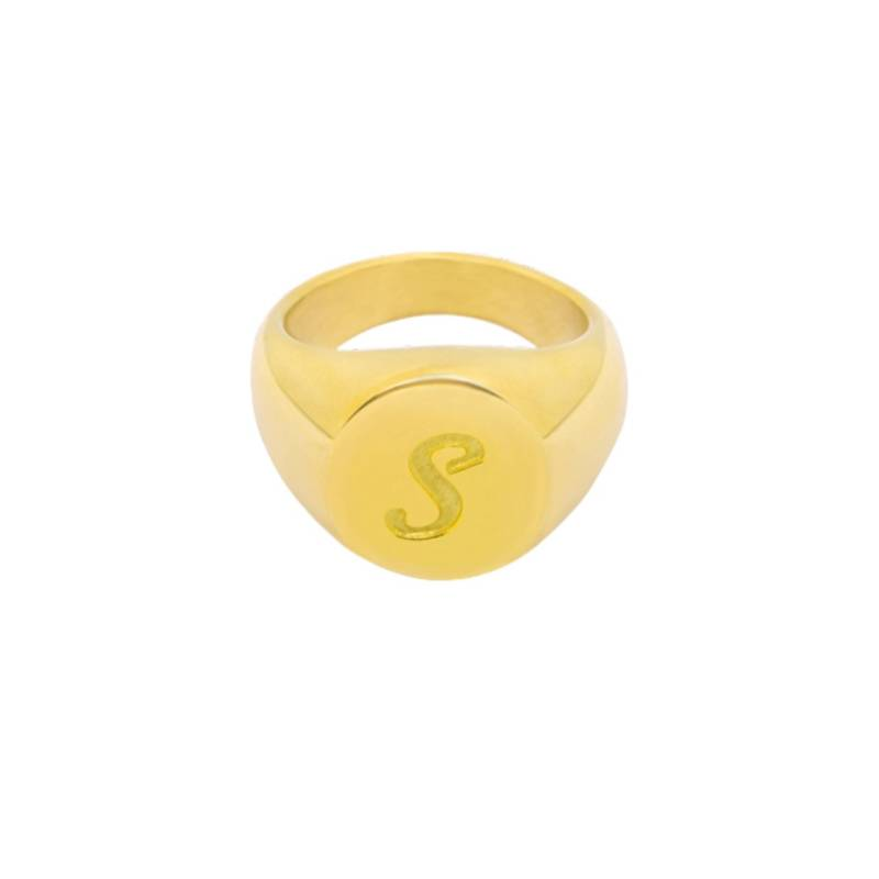 ZEGELRING letter S