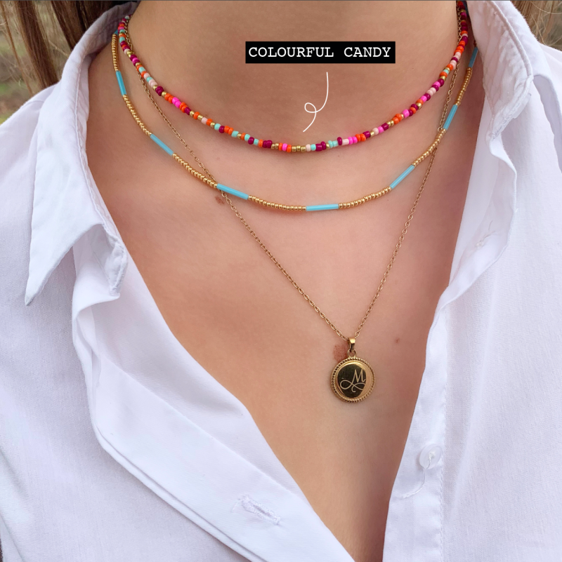 COLOURFUL CANDY KETTING