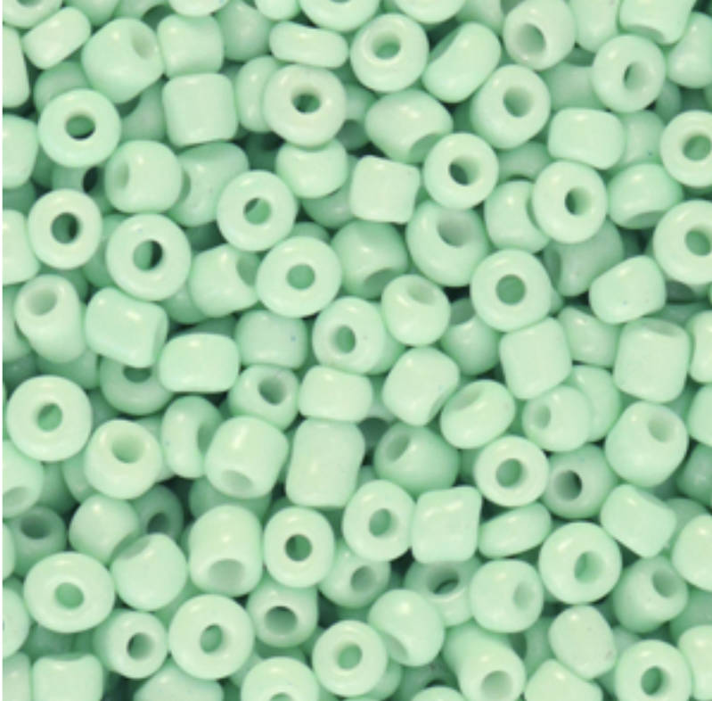 Rocailles 3mm Neo mint green