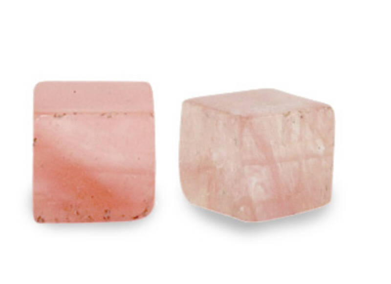 Natuursteen square 4mm Blossom pink