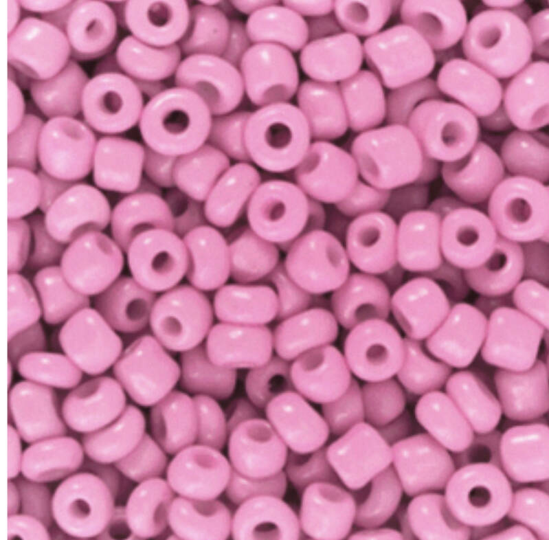 Rocailles 3mm Taffy pink
