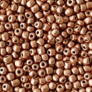 2mm rocailles, 1986 Copper Brown Metallic