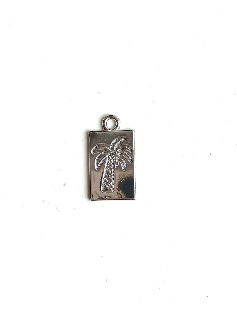 Tag Palmtree zilver