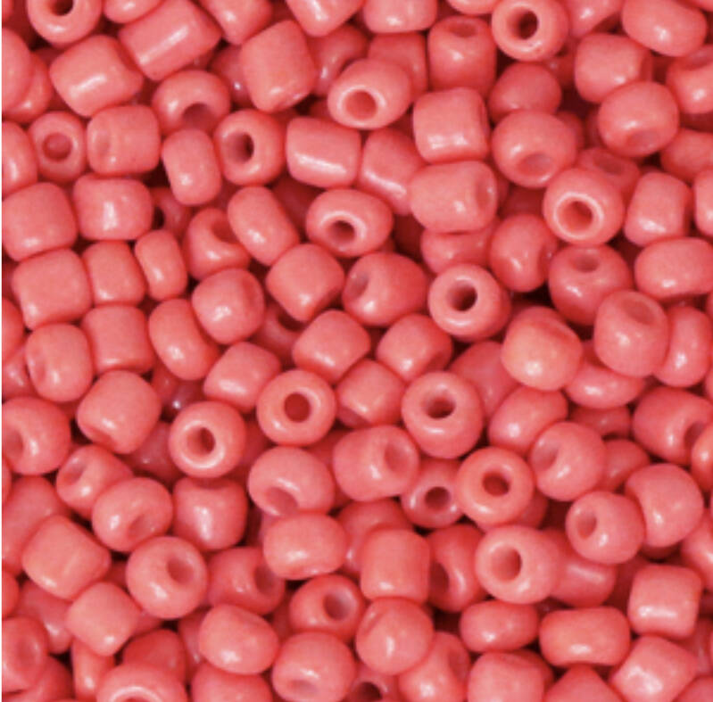 Rocailles 3mm Salmon Red
