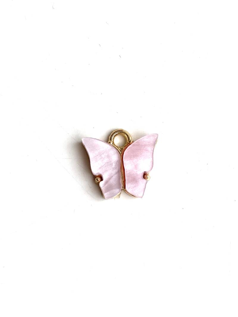 Butterfly bedel Pink - Gold