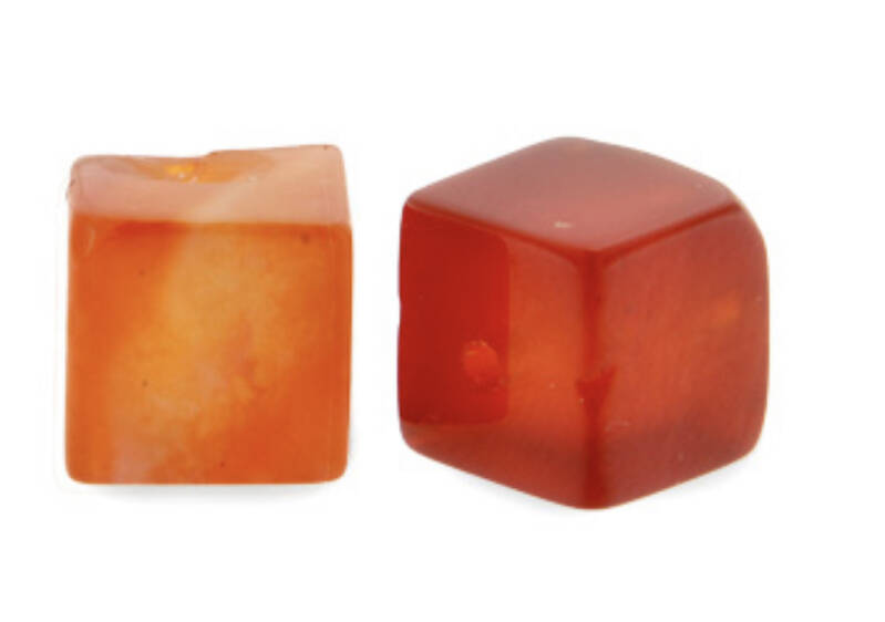 Natuursteen square 4mm fire red
