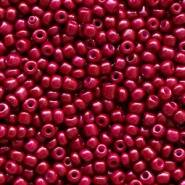 4mm rocailles, 1974 Mulberry Red