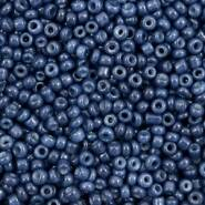 4mm rocailles, 1458 Navy Peony Blue