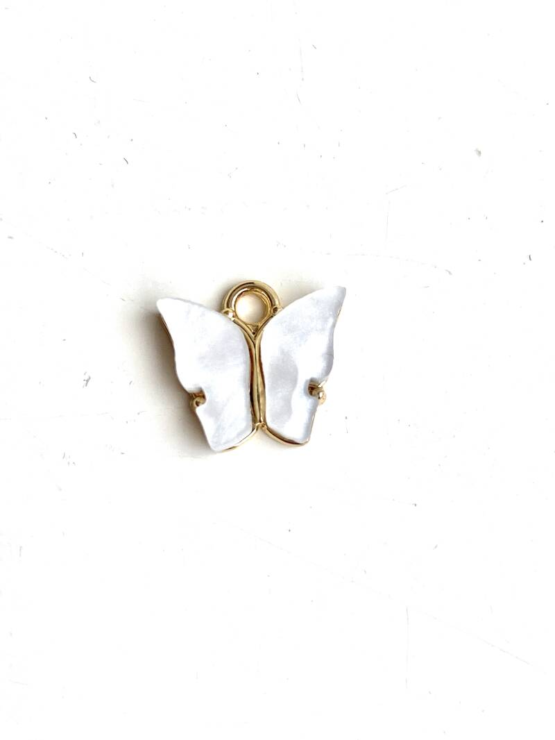 Bedel butterfly White - Gold