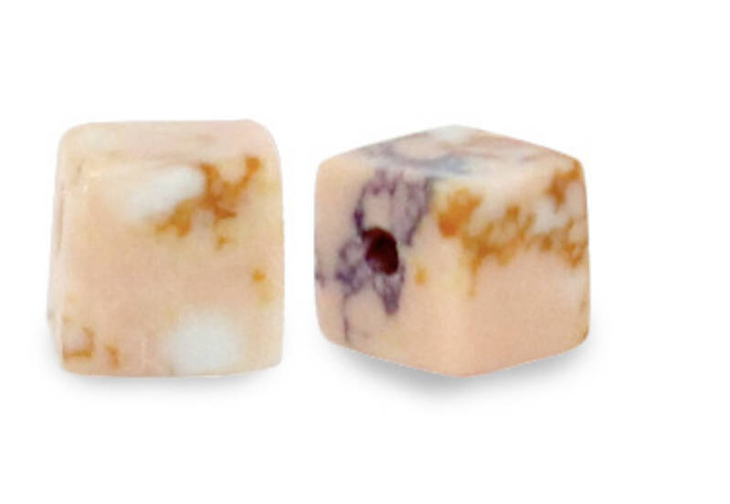 Natuursteen Square 4mm Marble peach pink