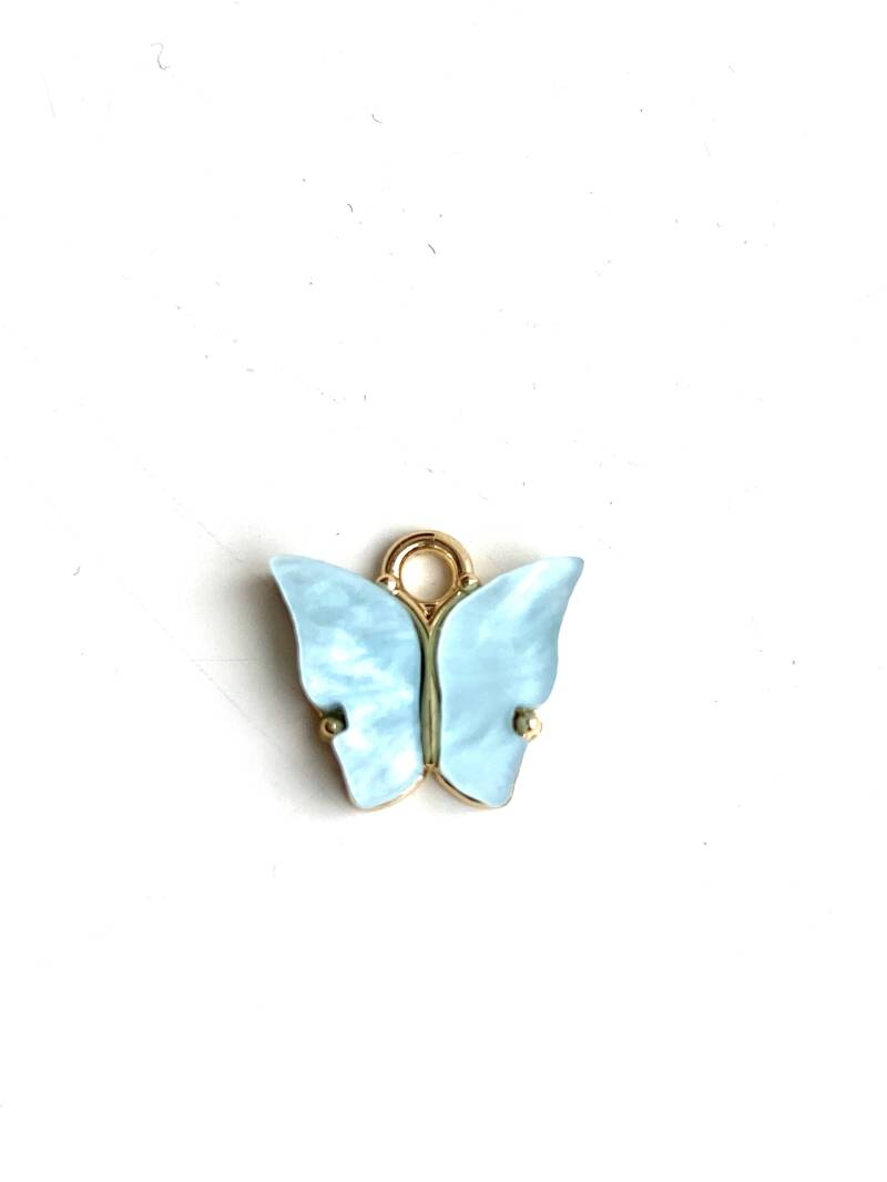 Bedel Butterfly Blue - Gold