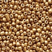 4mm rocailles, 1991 Almond Gold Metallic