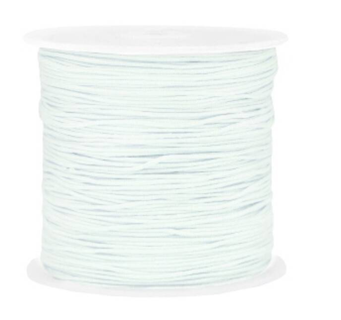 Draad macramé 0.8mm Light dusk blue