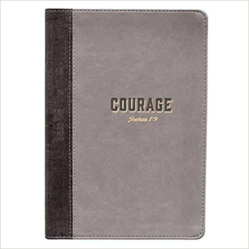 Journal Lux Leather - Courage - Grey