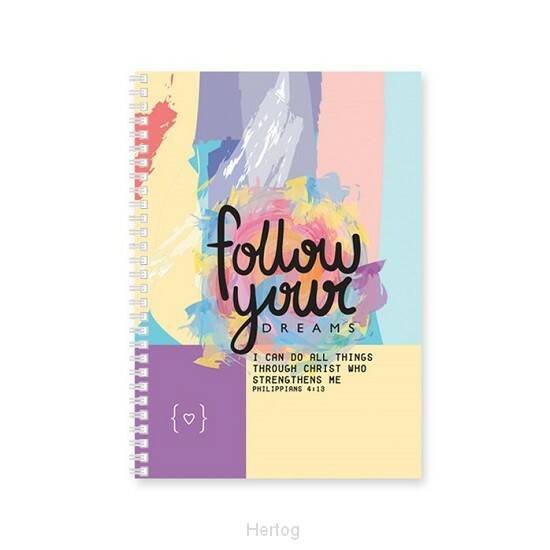 Softcover Dagboek - Follow your dreams