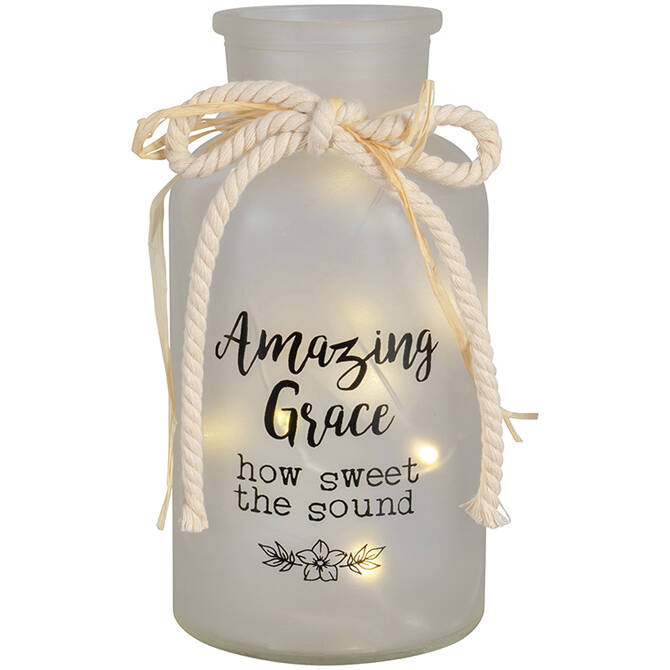 Lichtvaas Led - Amazing Grace