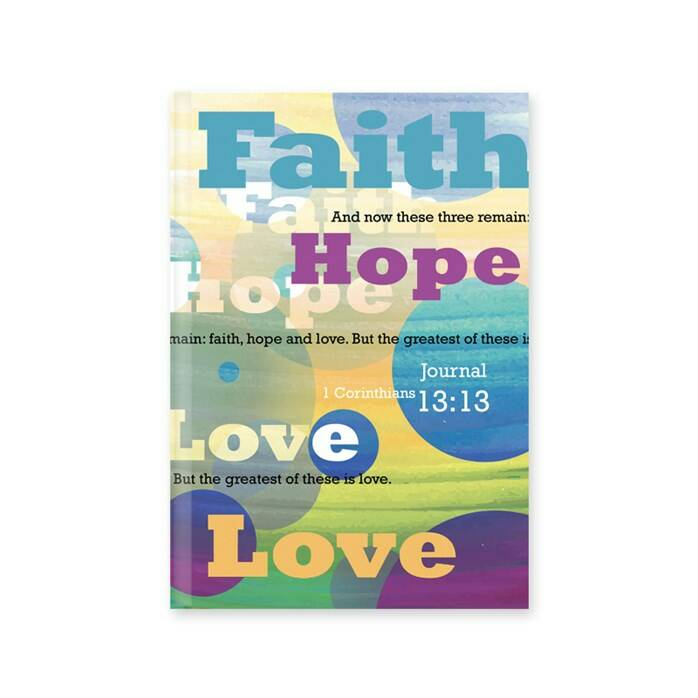 Dagboek - Hardcover - Faith Hope Love