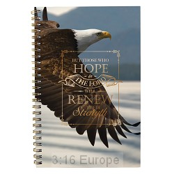 Notebook  Wirebound - But those who hope