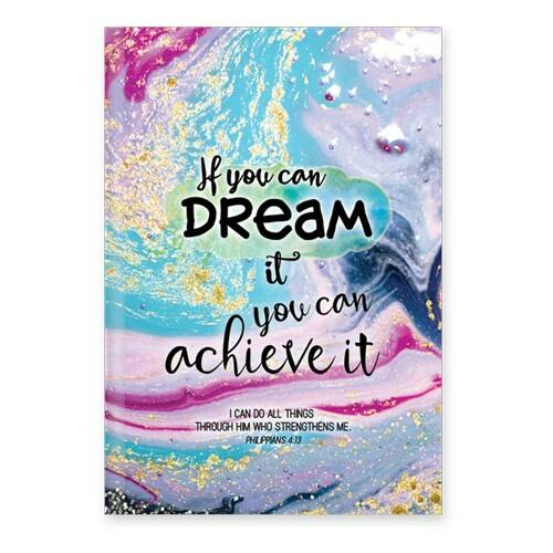 Journal - Hardcover - If you can dream