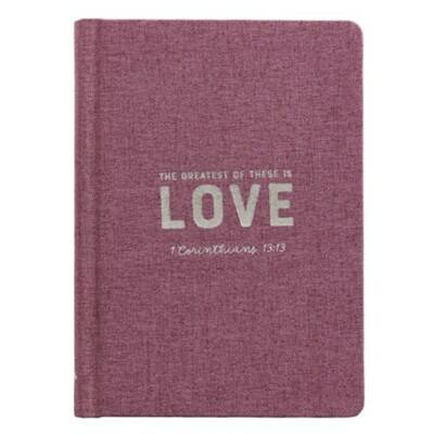 Journal - Linnen - Hardcover - Love