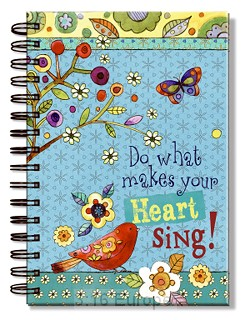 Journal  Wirebound - Do what makes your sing