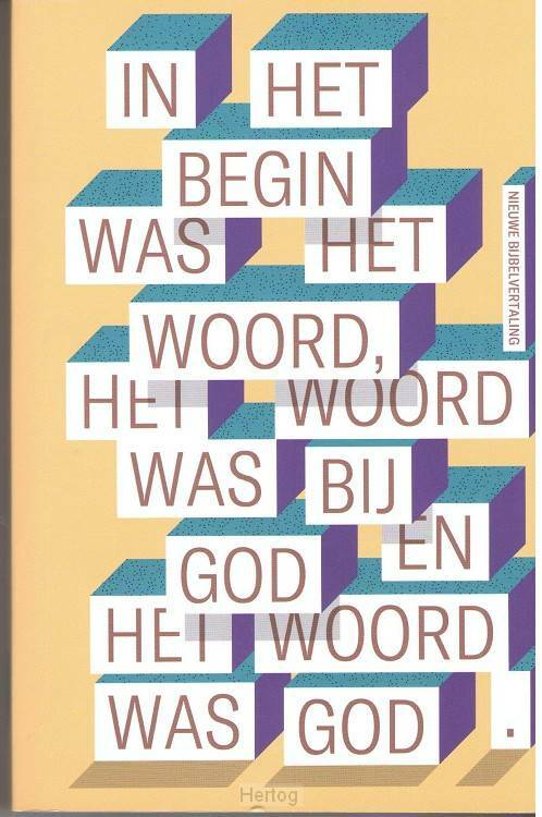 NBV 15 jaar limited edition Johannes 1:1