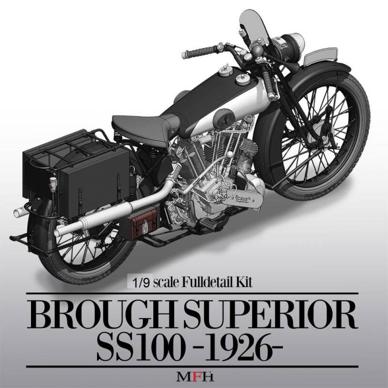 MFH Model kit K662 - Brough Superior SS100 1926