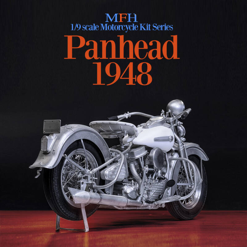 MFH HQ model kit K712  Harley Davidson Panhead 1948
