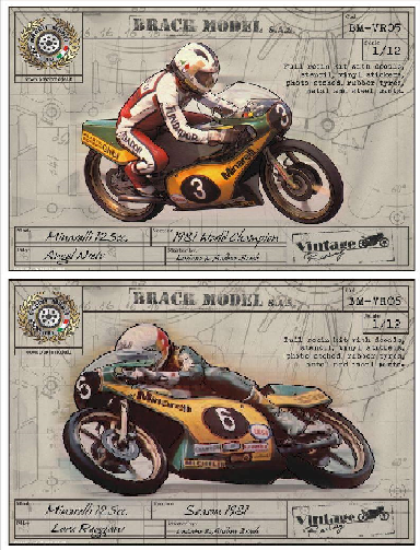 Minarelli 125 Grand Prix 1981 - Worldchampion Angel Nieto of Loris Reggiani