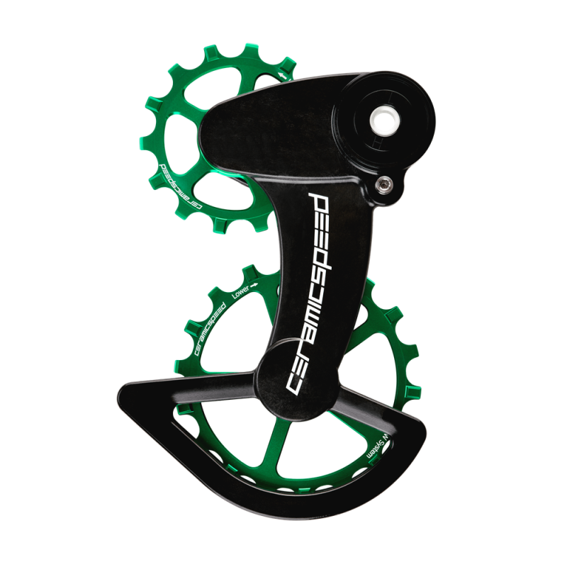 CeramicSpeed OSPW X Coated Schalträdchen-System SRAM Rival 1 T. 3 - Limited Edition