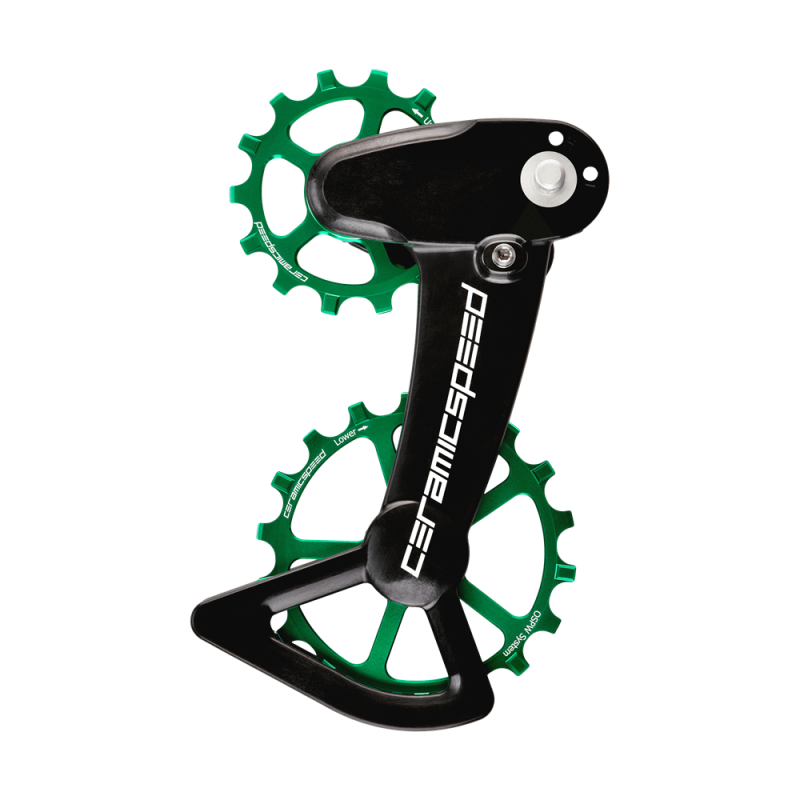 CeramicSpeed OSPW X Coated Schalträdchen-System Shimano XT 12-fach -Limited Edition