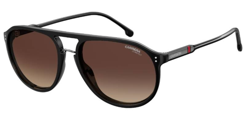 Carrera 212/S 807 (LA) BLACK (BROWN SF PZ)