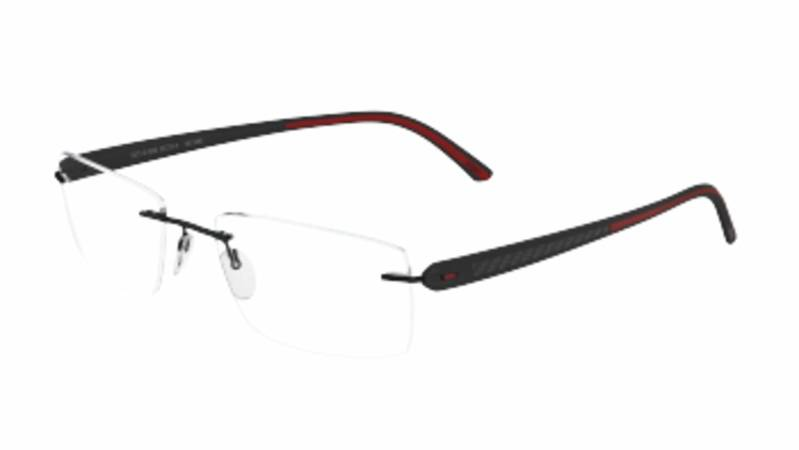 Silhouette Carbon T1 5373 6054 Black / Red