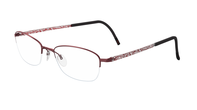 Silhouette Illusion Nylor 4453 6056 Red / Crystal-Red