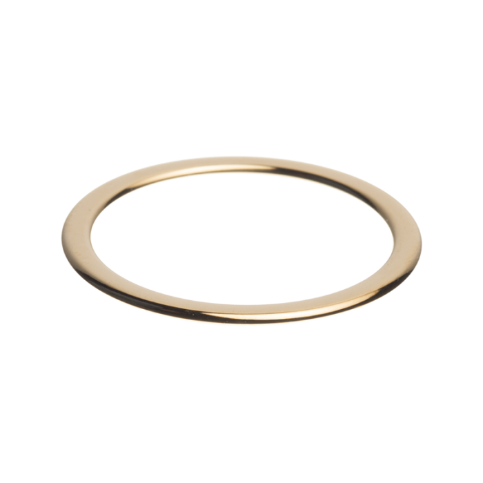 daNicci Side ring 1.5 mm Glimmend Goud