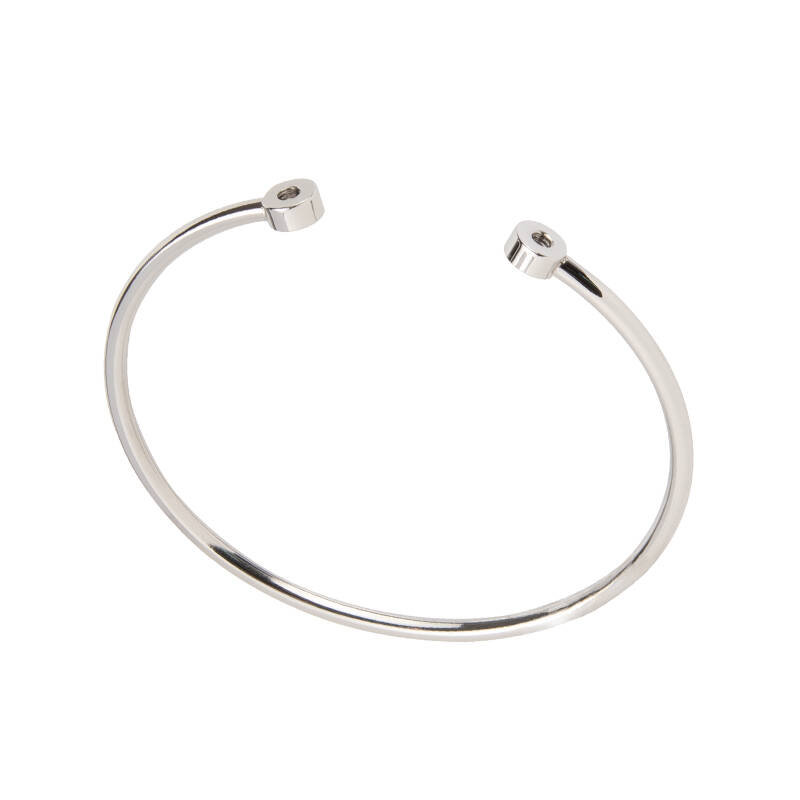"daNicci Armband ""Bangle Brace"" Silver"