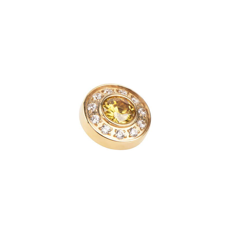 daNicci Brilliance 10 mm Goud Diamond/Yellow