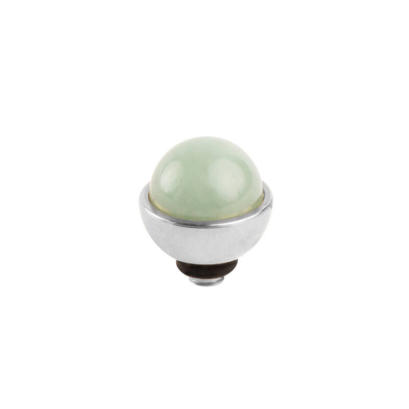 daNicci Mount 7mm Silver New Jade