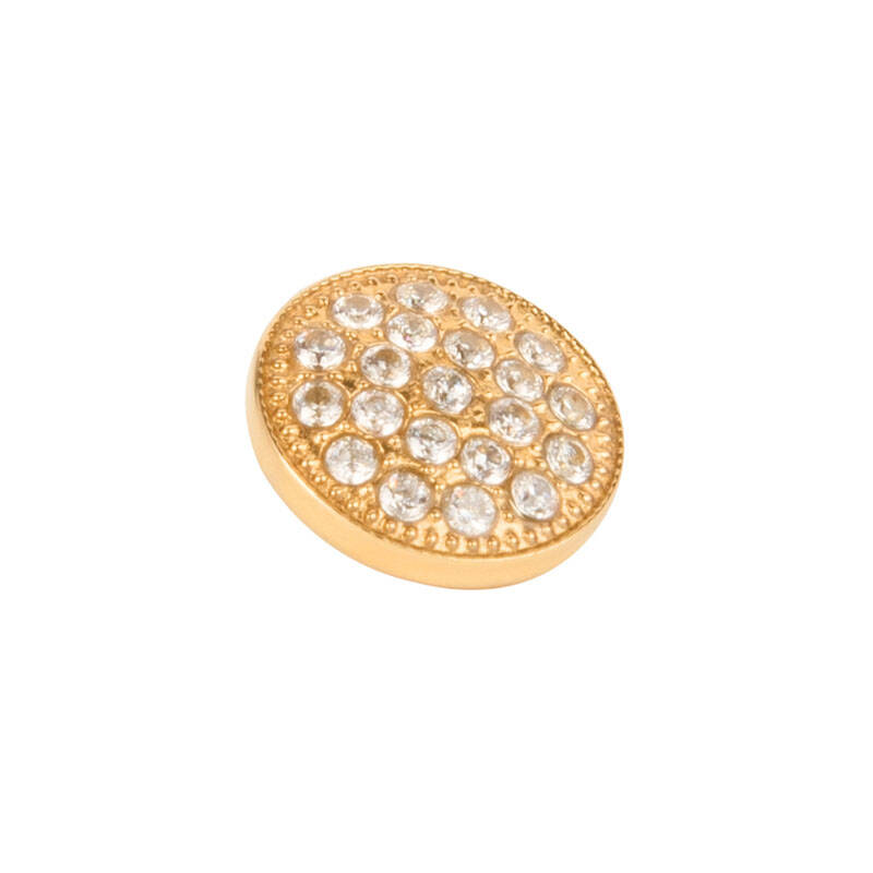 daNicci Twinkle 10 mm Goud Diamond