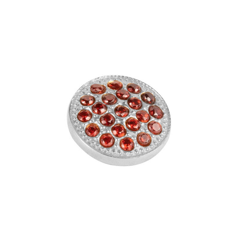 daNicci Twinkle 10 mm Zilver Red