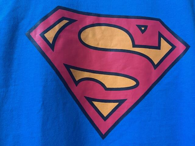 Shirt blauw SUPERMAN