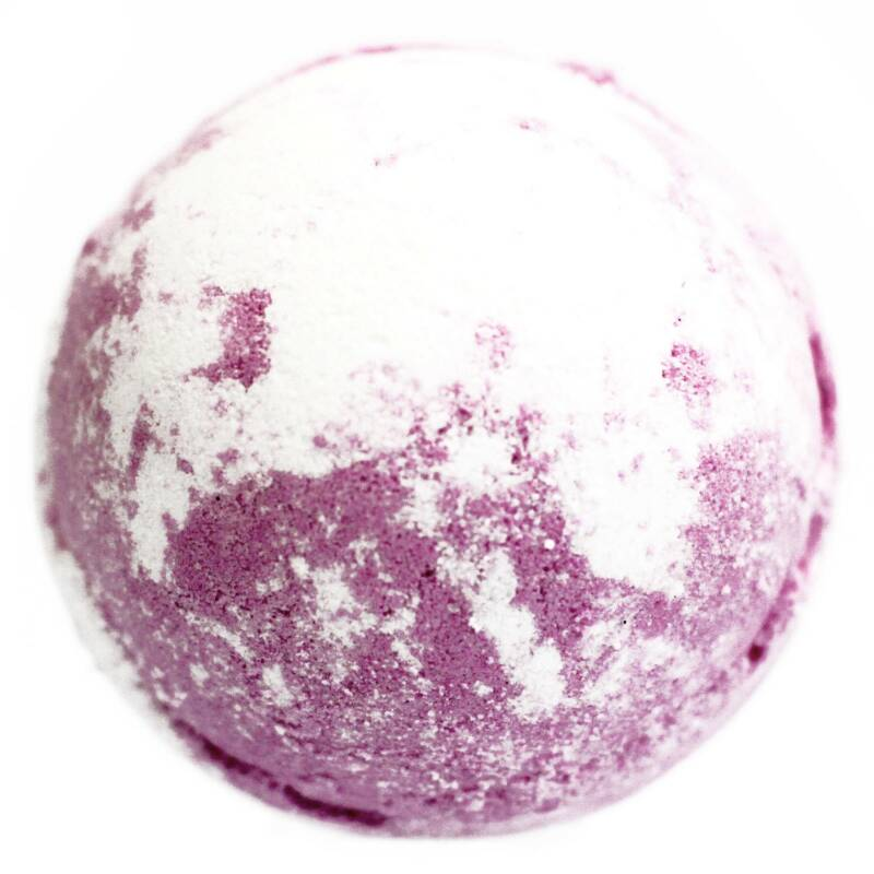 Shea Butter Bath Bombs - Rasp & Black Pepper.