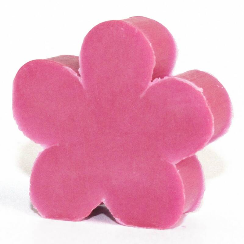 Flower Shaped Guest Soaps - Freesia.