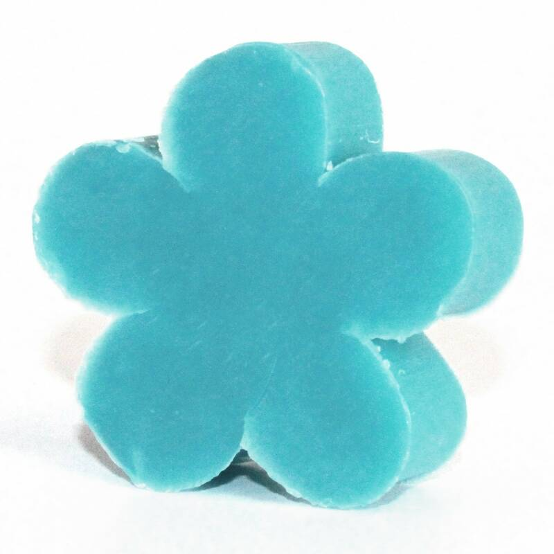 Flower Shaped Guest Soaps - Wild Hyacinth.
