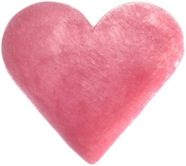 Heart Shaped Guest Soaps - Wild Rose.