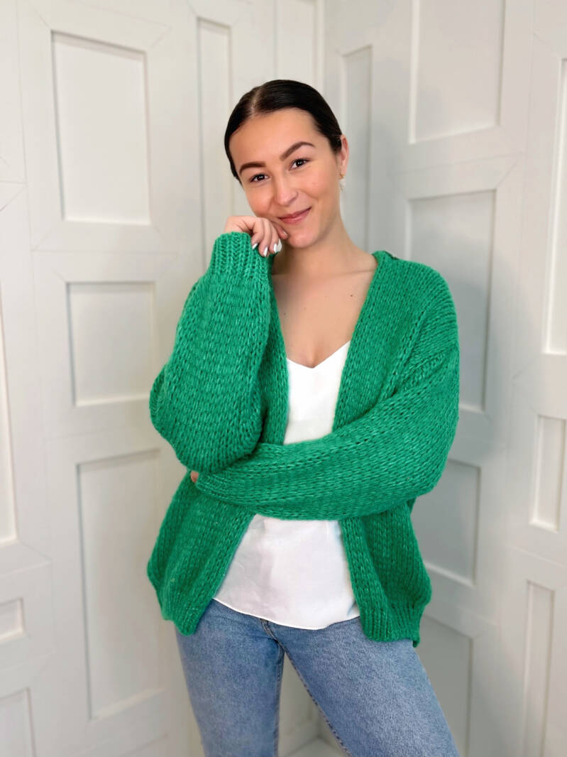 Likeable Knit Green