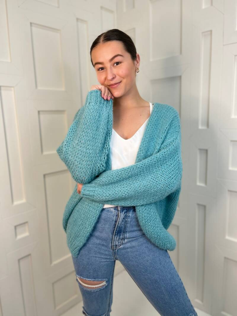 Likeable Knit Blue